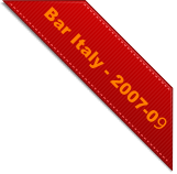 Bar Italy - 2007-09